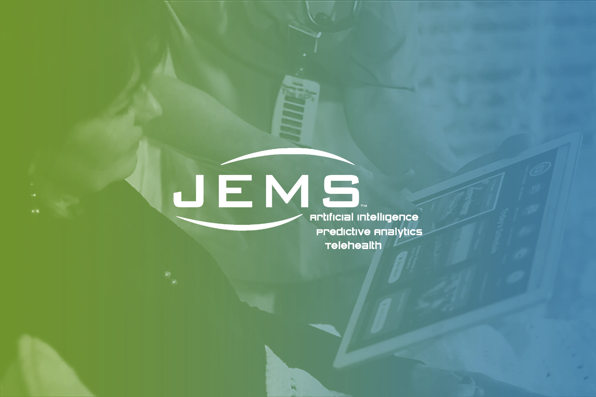 JEMS Artificial Intelligence predictive analytics telehealth