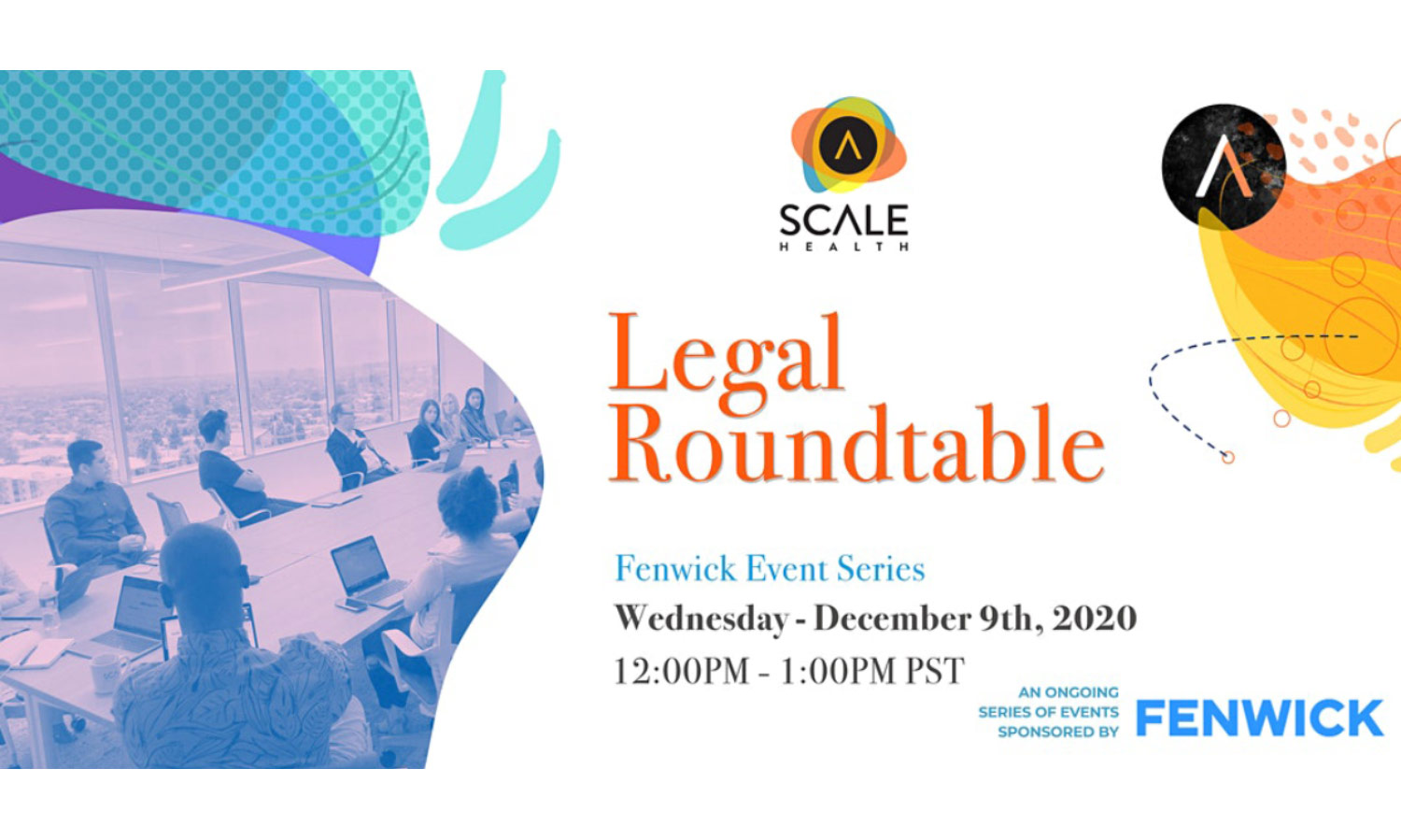 ScaleHealth legal round table promotion header