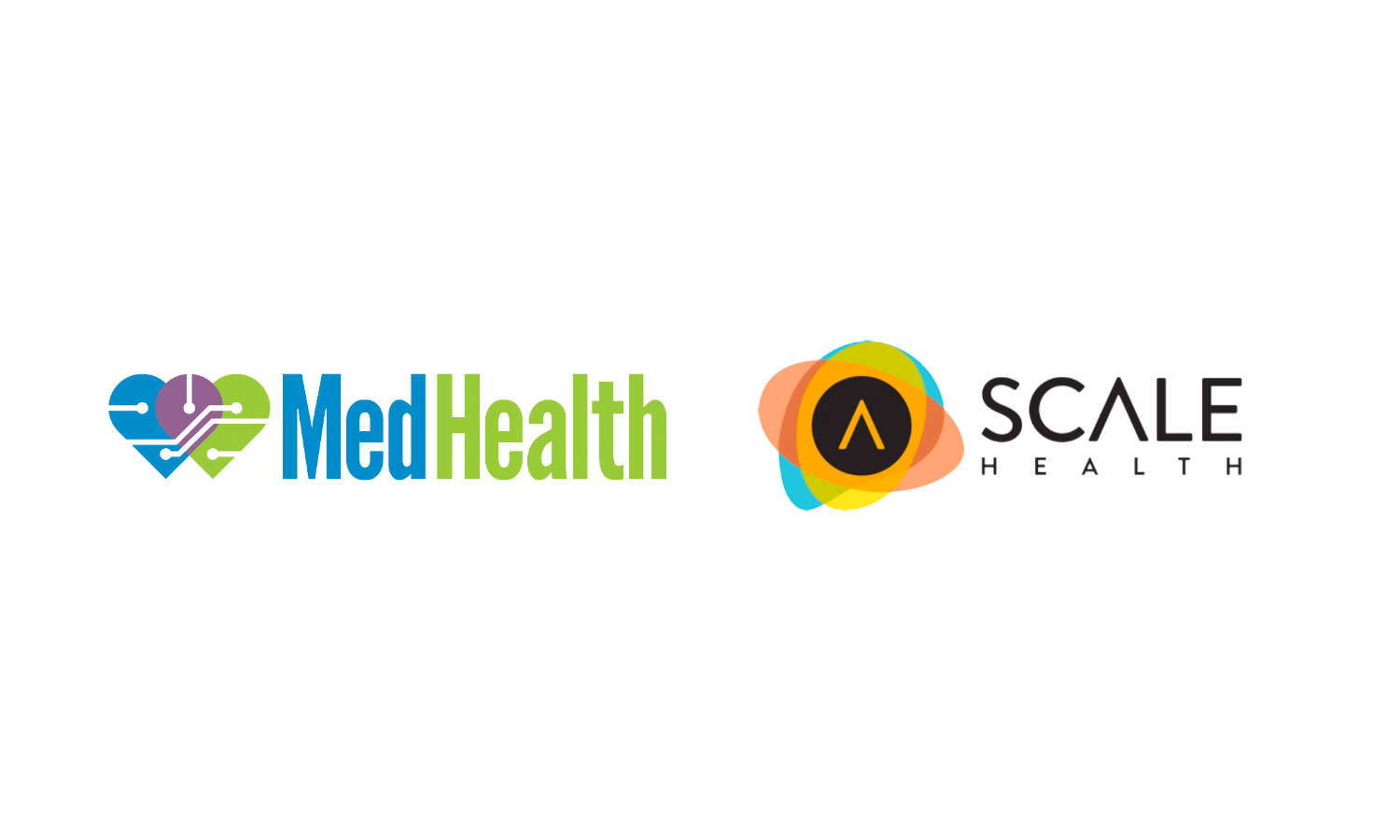 MedHealth and Scale Health Logos
